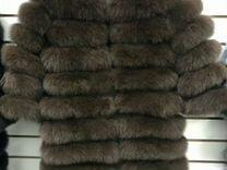 Шуба из песца (арт 828411) — Одежда, обувь, аксессуары в Москве