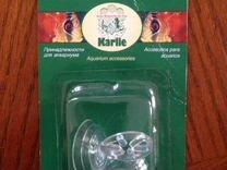 Присоска Karlie с большим кольцом прозрачная