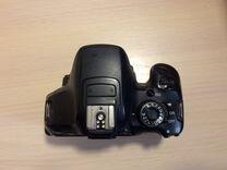 Canon 650D kit +2 обьектива+ вспышка
