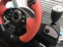Руль игровой DV Tech новый
