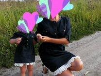 Продам 2 платья Family look. Мама и дочка — Одежда, обувь, аксессуары в Томске