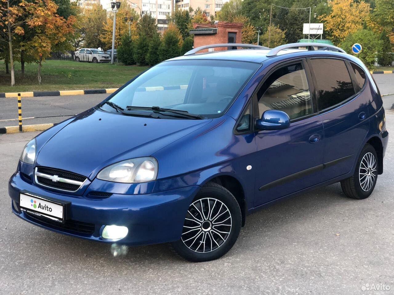 Chevrolet Rezzo, 2008  89065637466 купить 10