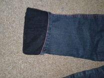 Утепленные джинсы на рост до 110см примерно