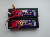 RC Аккумулятор липо 3S 3400ма 30C