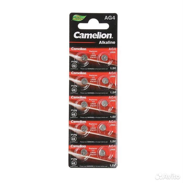 Батарейка алкалиновая Camelion AG4, 377, LR626  89961005696 купить 1