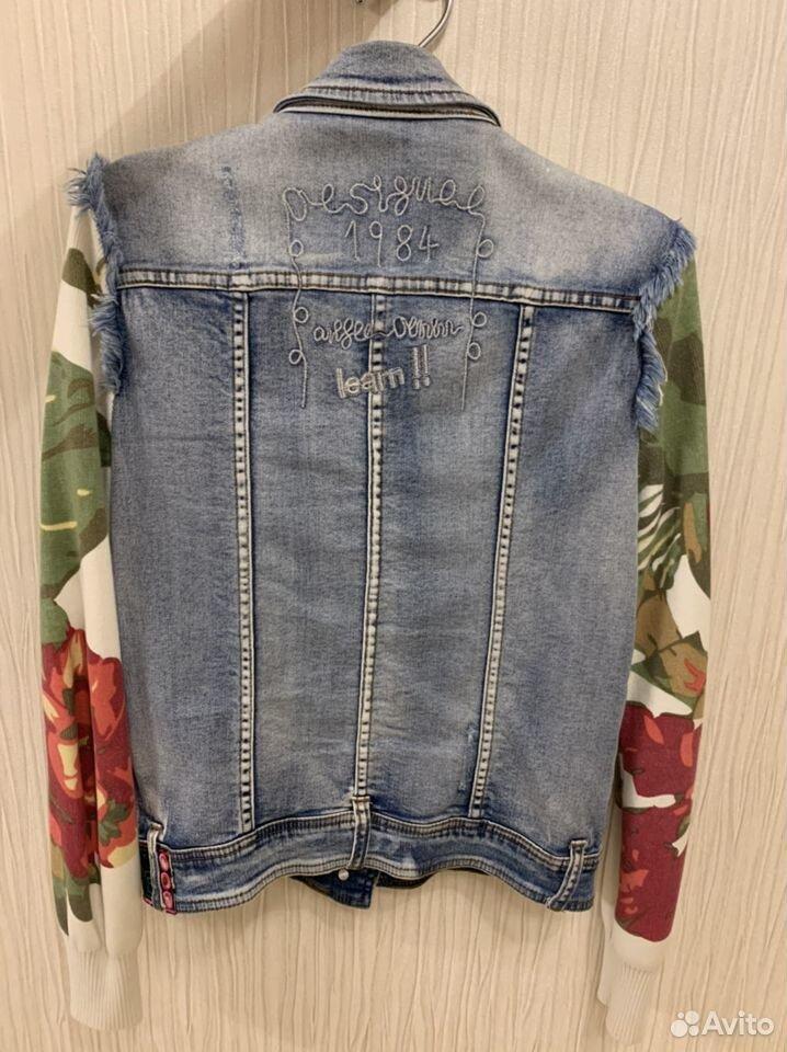 Джинсовая куртка женская  89206691213 купить 2