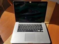 Топовый Macbook pro 15 retina 2015 256/16
