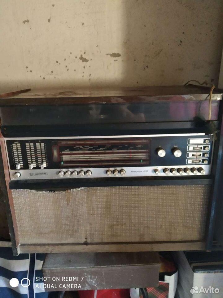 Радиола радиотехника мелодия 102  89000423253 купить 1