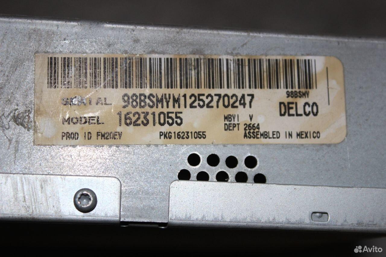 Проигрыватель CD Chevrolet Tahoe GMT400  89510096699 купить 6