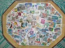 556 разных марок мира без повторов