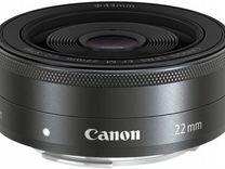 Объектив Canon EF-M 22mm f/2 STM — Фототехника в Москве