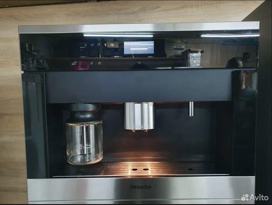 Встраиваемая кофемашина Miele CVA 6401.Идеал