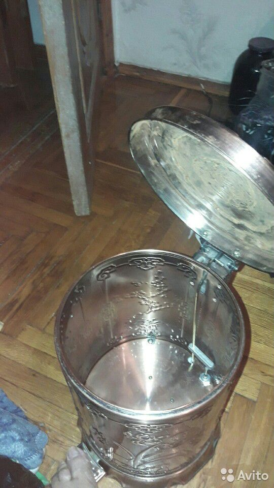 Мусорный бак для кухни педальный  89286687418 купить 5