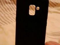 Чехол(задний бампер новый) для телефона SAMSUNG A8