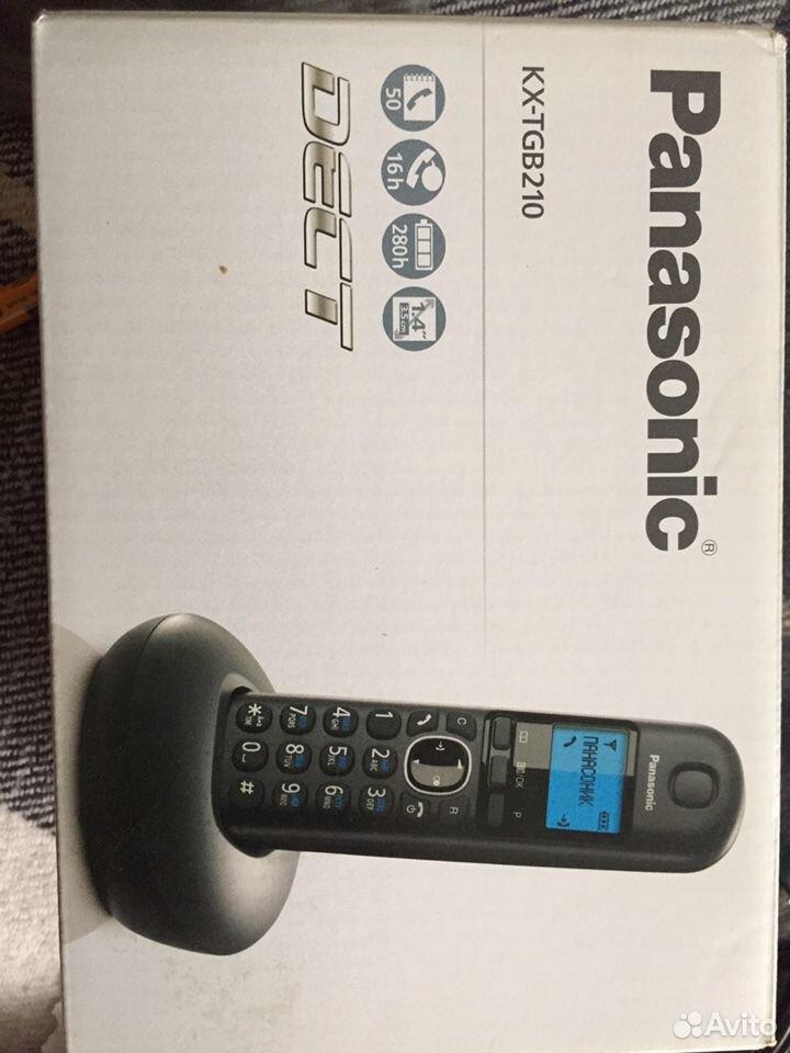 Радиотелефон Panasonic KX-TGB210  89270935355 купить 1