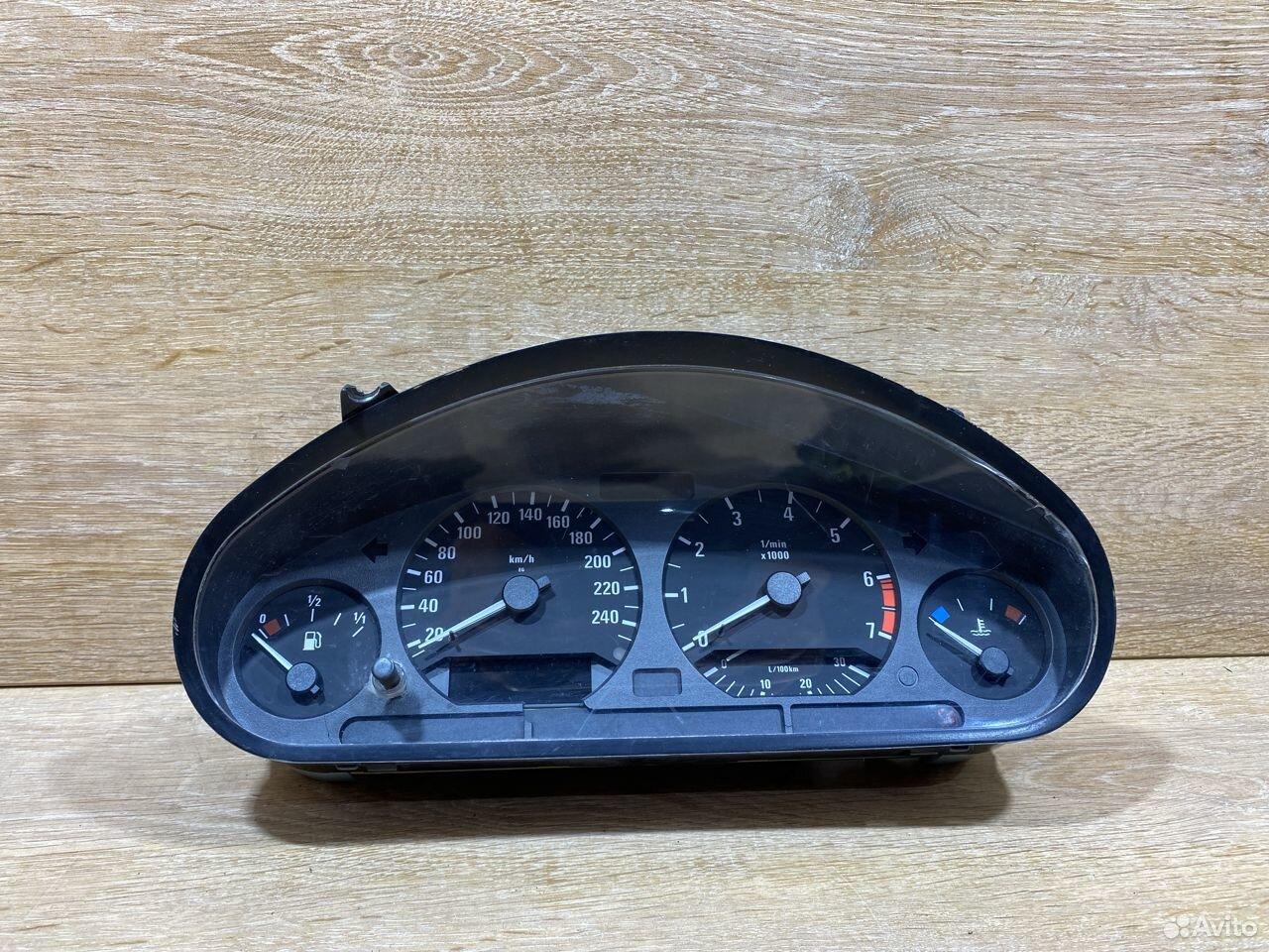 Панель приборов BMW E36 бензин 772098  89534684247 купить 1