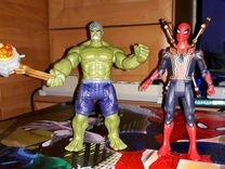 Фигурки avengers мстители камни бесконечности