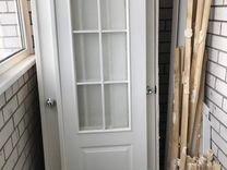 Продам двери бу Белый