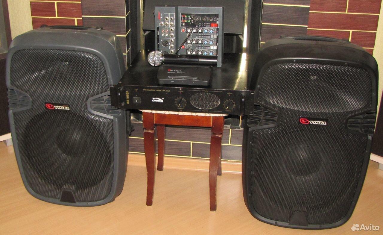 Колонки Volta 700W D15 усилитель микшер микрофон  89128899109 купить 4