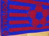 Полотенце махровое банное 70х140 футбол