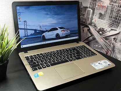 Свежий ноутбук Asus